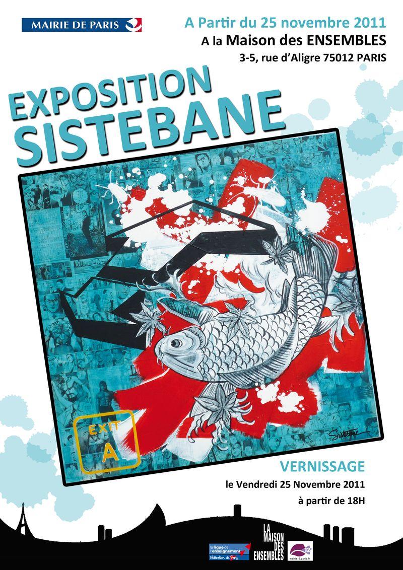 Sistebane expo affiche A4